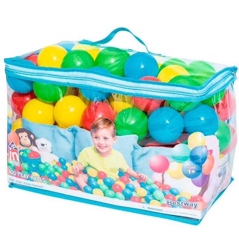Comprar Bolsa de 100 Bolas de colores para parque
