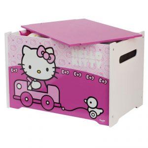 Baú para brinquedos Hello Kitty