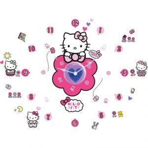 Relogio de parede Hello Kitty