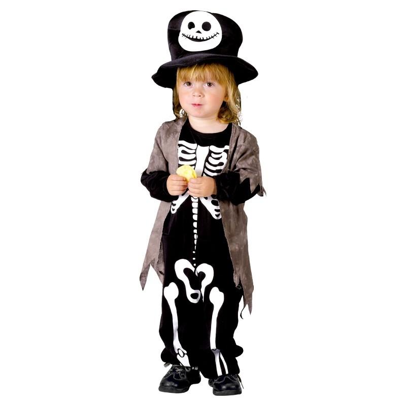 Disfarce Bebé esqueleto