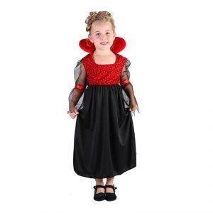 Disfraz de Bebé vampiro niña