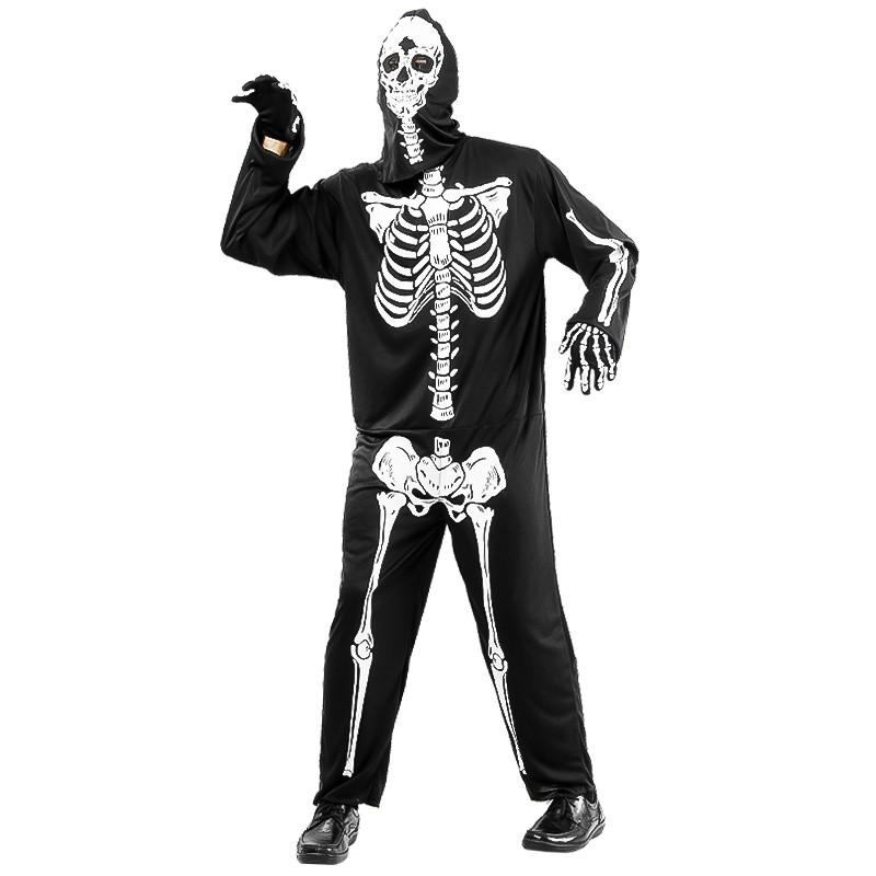 Disfarce Homem esqueleto