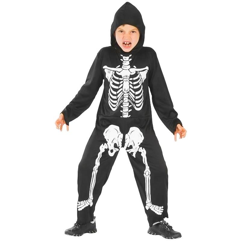 Disfarce Menino esqueleto