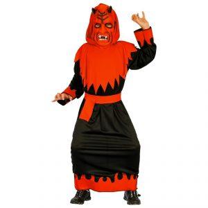 Disfraz de Demonio niño con máscara