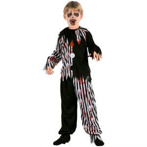 Disfraz de Niño arlequín diabólico