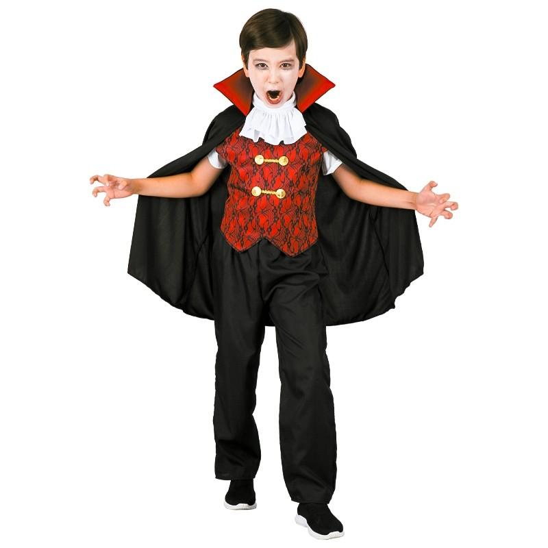 Disfarce Vampiro menino