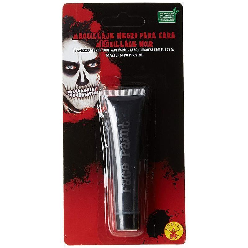 Maquilhagem preto Halloween