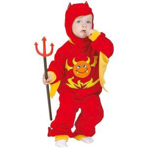 Disfraz de diablito para bebé