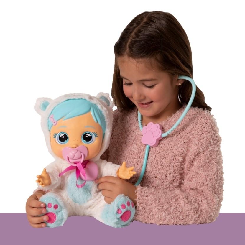 boneca chorona CRY BABIES KRISTAL