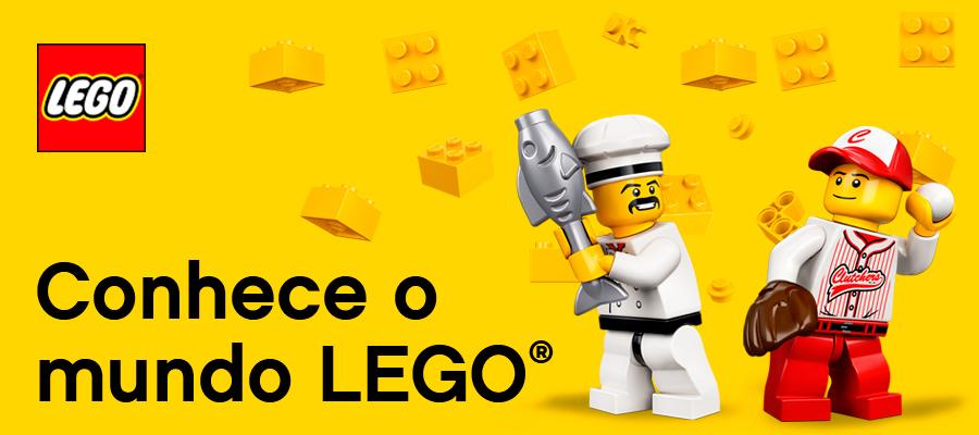 Conhece os brinquedos LEGO