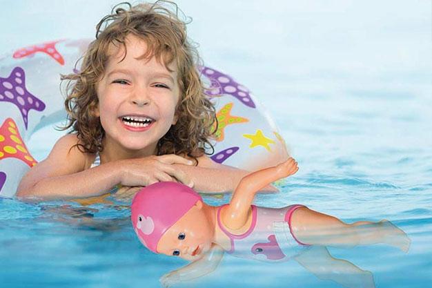 bonecas nadadoras