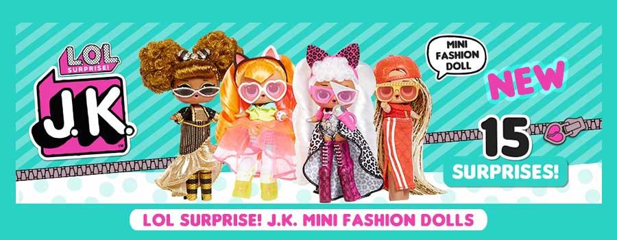 LOL Surprise JK mini fashion dolls