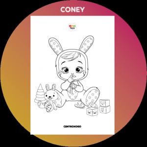 colorir desenho Coney Cry Babies